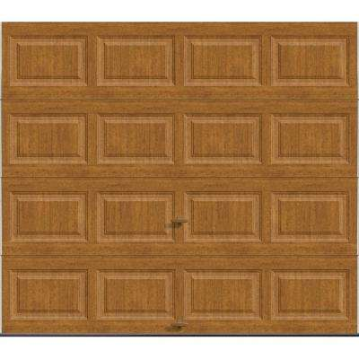 Classic Collection 8 ft. x 7 ft. 18.4 R-Value Intellicore Insulated Solid Ultra-Grain Medium Garage Door
