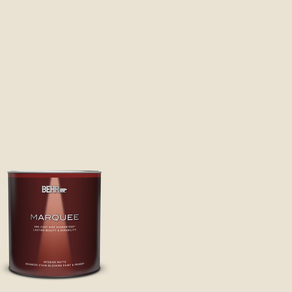 Behr Marquee 1 Qt Ecc 47 2 Elk Horn Matte Interior Paint Primer 145004 The Home Depot
