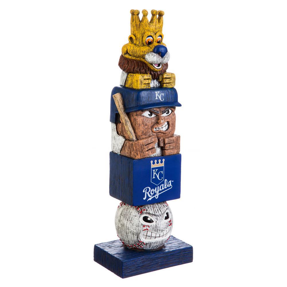 Kansas City Royals Tiki Totem Garden Statue