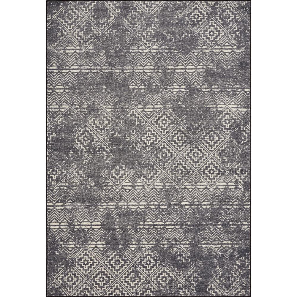 Kas Rugs Laguna Grey Elements 8 Ft. X 11 Ft. Distressed