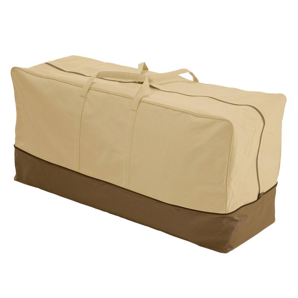 Classic Accessories Veranda Large Patio Cushion Storage Bag 78982 The Home Depot