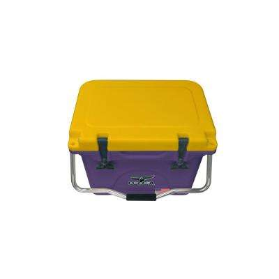 ORCA Purple/Gold 20 Qt. Cooler