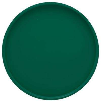 Bartenders Choice Fun Colors 14 in. Round Serving Tray in Tropic Green
