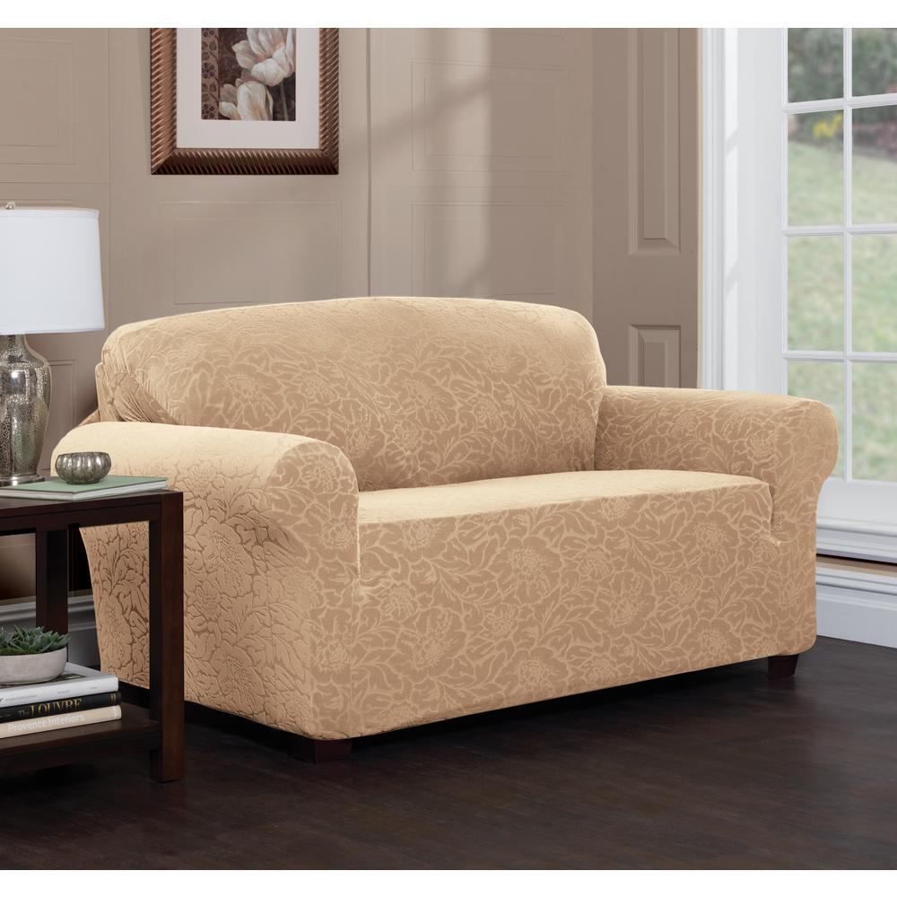 Stretch Sensations Fl Sofa Slipcover