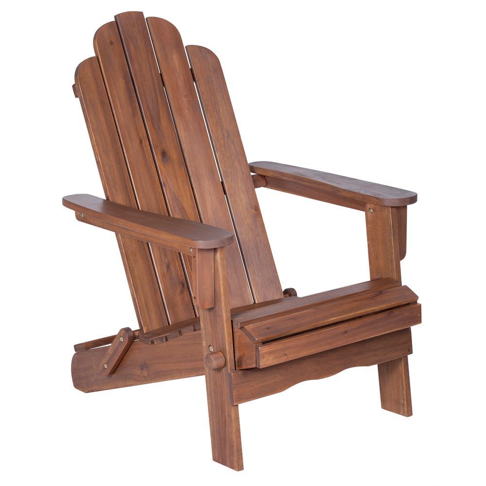 ... Walker Edison Furniture Company. Compare. Boardwalk Dark Brown Outdoor  Adirondack Chair