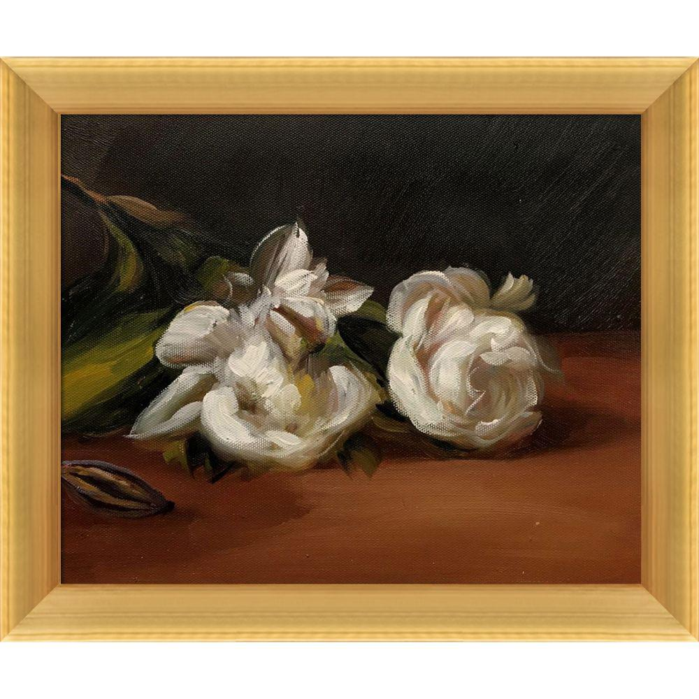 LA PASTICHE Branch Of White Peonies With Pruning Shearsby Edouard Manet Framed Abstract Wall Art 10.5 in. x 12.5 in., Multi-Colored was $777.0 now $247.9 (68.0% off)