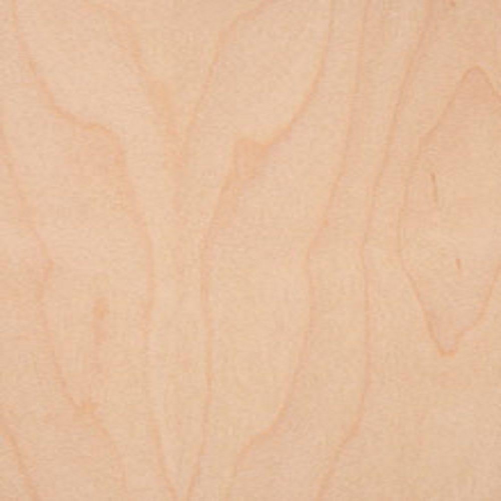 Edgemate 48 in. x 96 in. Maple Wood Veneer with 10 mil Paper Backer