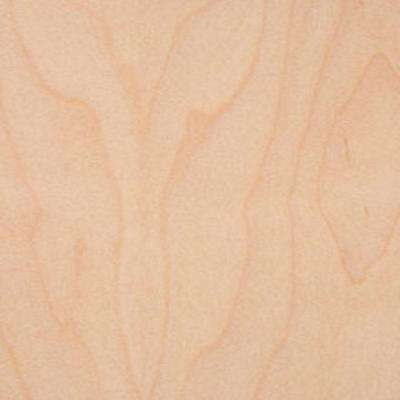 Edgemate 24 in. x 96 in. White Maple Wood Veneer with 2-Ply Wood Backer