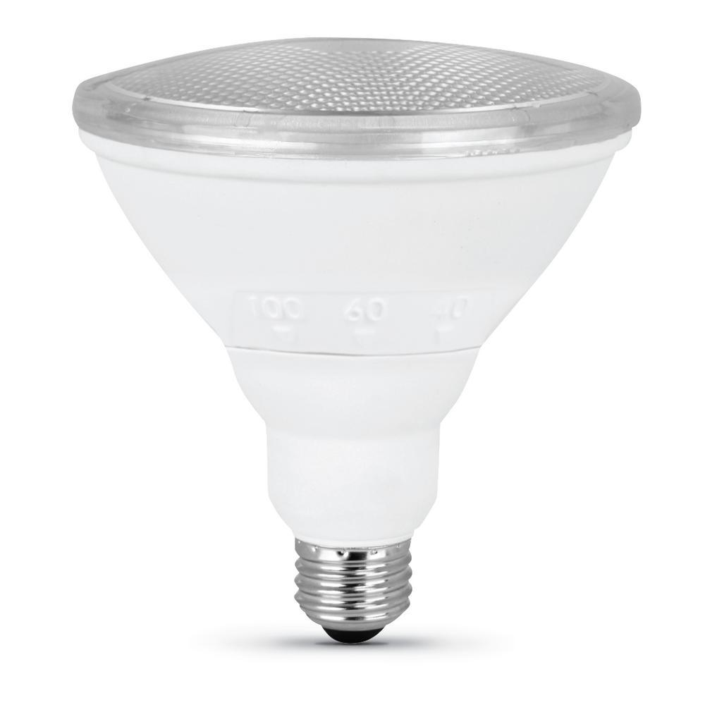 FeitElectric 90-Watt Equivalent PAR38 Dimmable CEC Title 24 Compliant LED ENERGY STAR 90+ CRI Adjustable Light Bulb, Bright White