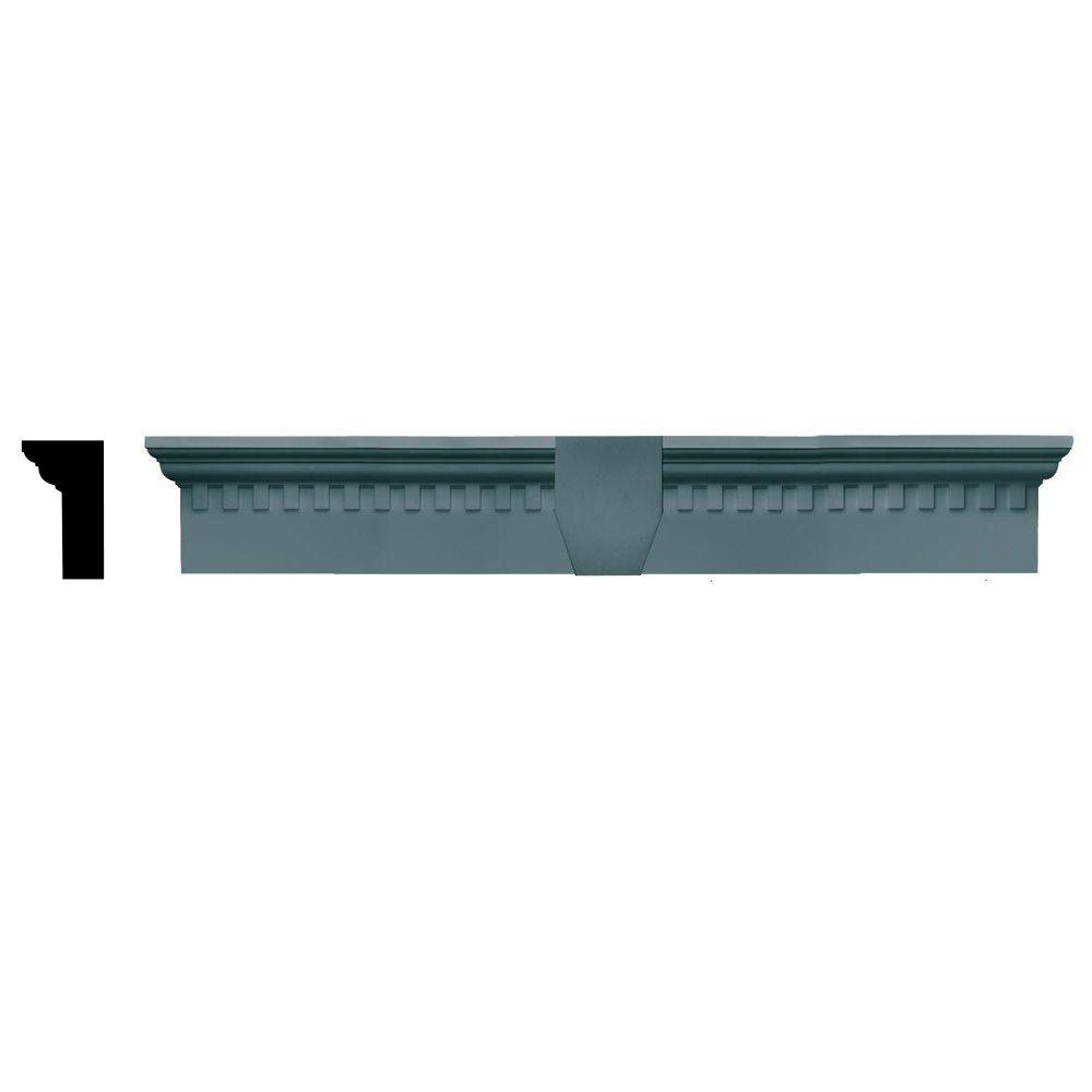 2-5/8 in. x 6 in. x 37-5/8 in. Composite Classic Dentil