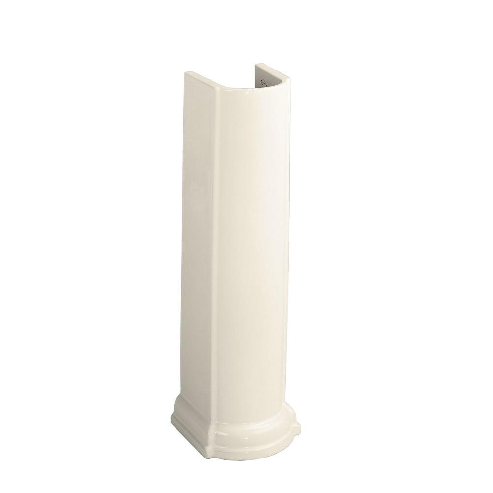 Devonshire Vitreous China Pedestal in Almond