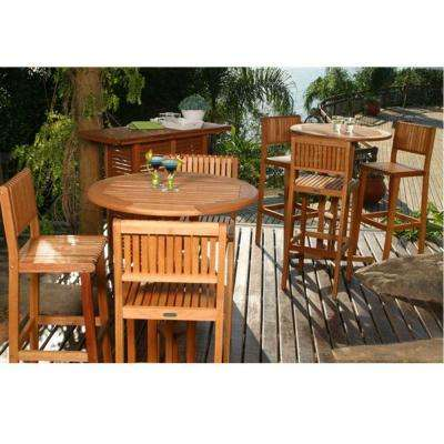 Ibiza 4-Piece Patio Bar Set