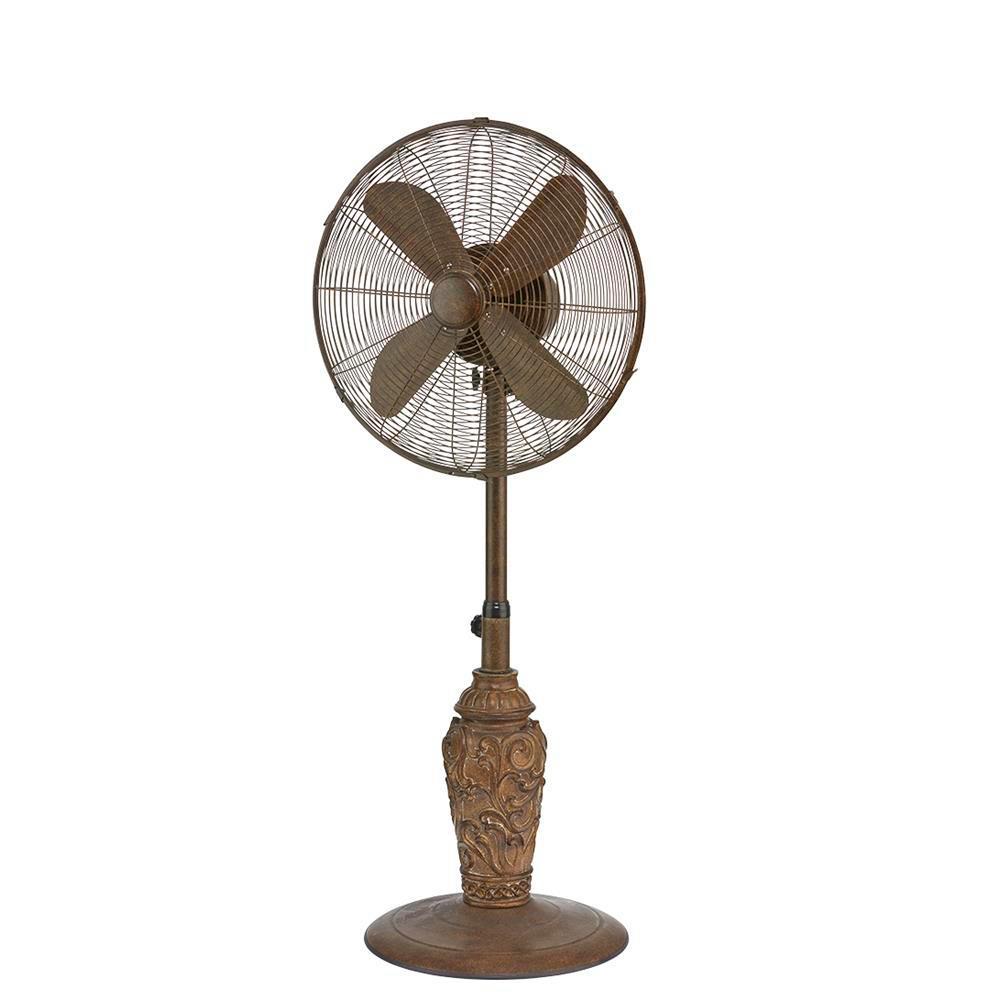 Designer Aire 18 in. 3-Speed Cantalonia Outdoor Floor Fan