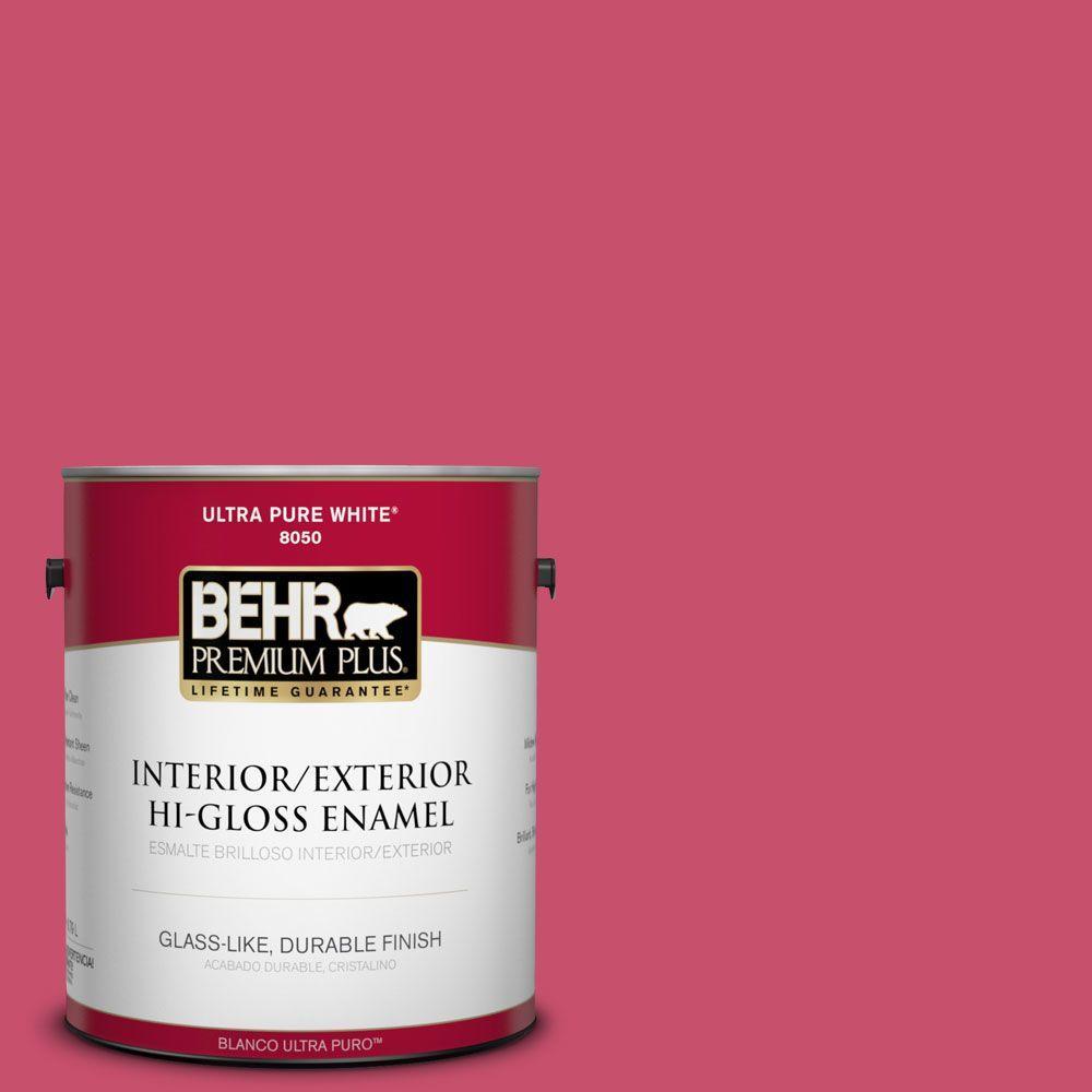 1-gal. #120B-7 Tropical Smoothie Hi-Gloss Enamel Interior/Exterior Paint