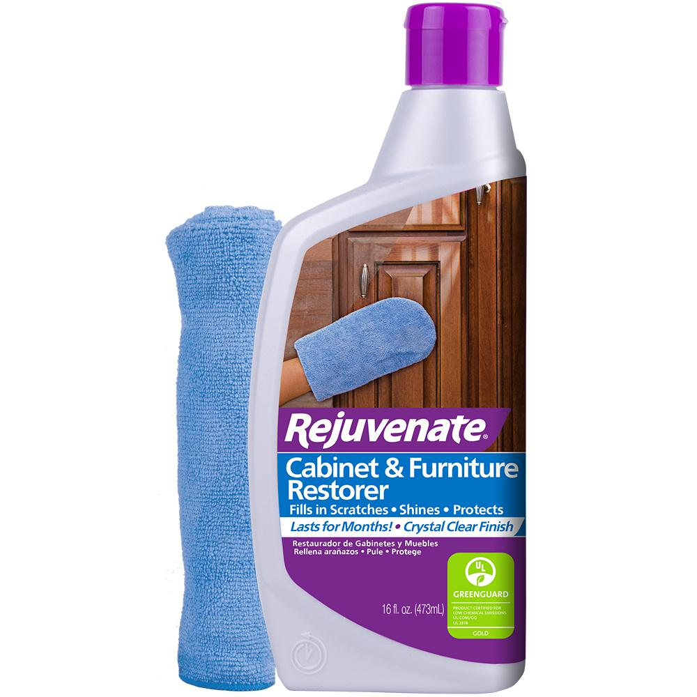 Rejuvenate 16 Oz Cabinet And Furniture Restorer And Protectant