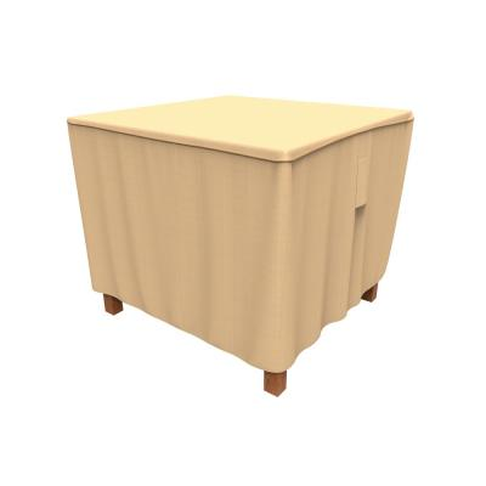 Rust-Oleum NeverWet Savanna Small Tan Square Patio Table Cover