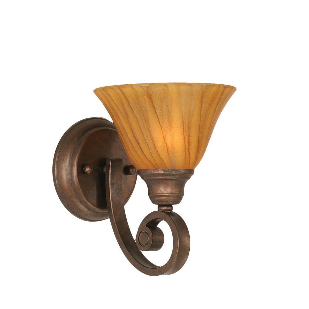 Filament Design Concord 1 Light Bronze Sconce CLI