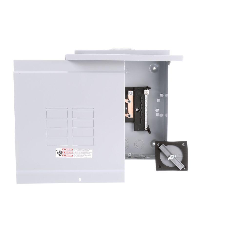 Siemens EQ 125 Amp 8-Space 16-Circuit Main Lug Outdoor Load Center