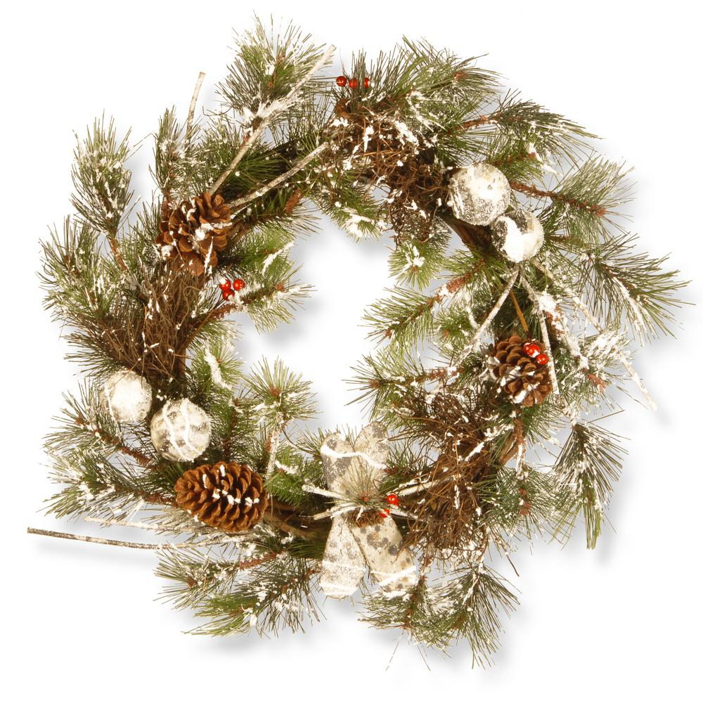 christmas artificial wreath - Artificial Christmas Wreaths Decorated