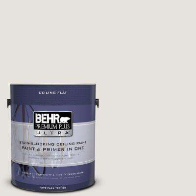 1 gal. No.UL250-13 Ceiling Tinted to White Opal Flat Interior Paint and Primer in One
