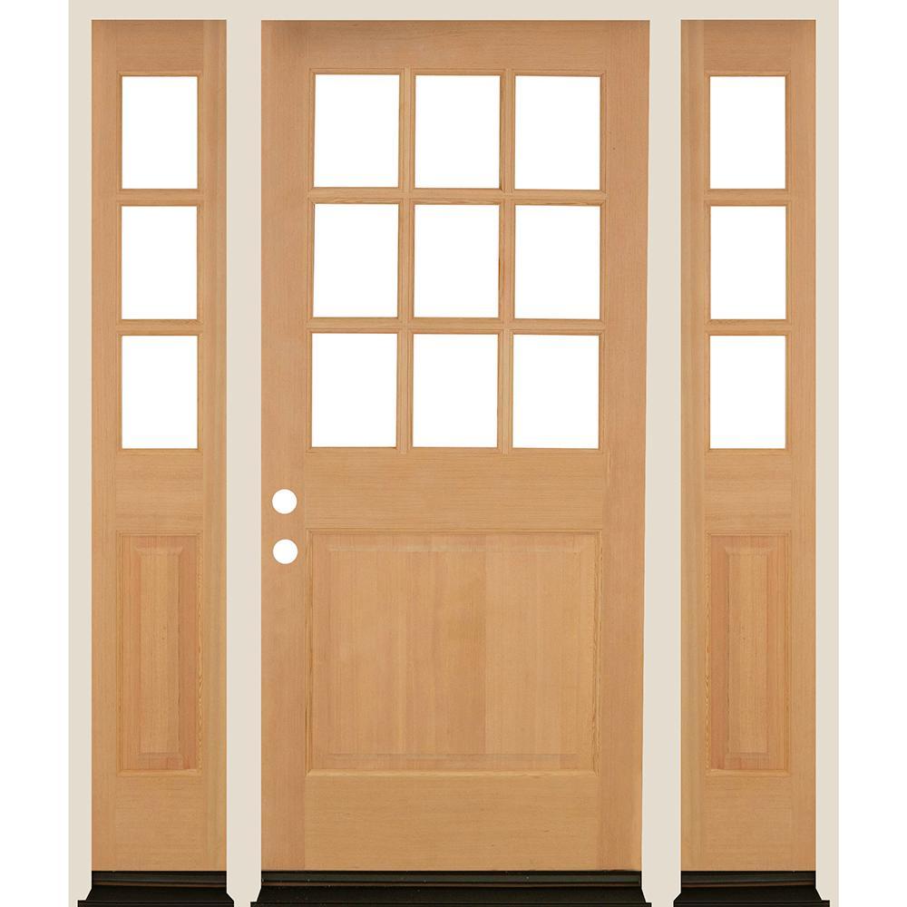 Farmhouse 36 X 80 Front Doors Exterior Doors The Home Depot