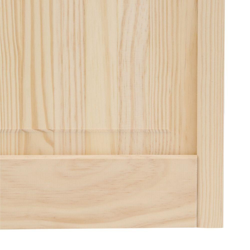 Pinecroft 30 In X 80 In Glass Over Panel Tuscany Wood: Pinecroft 24 In. X 80 In. Glass Over Panel Universal