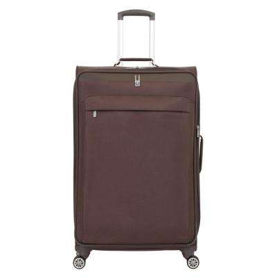 29 in. Brown Spinner Suitcase