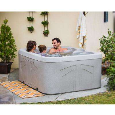 Bermuda DLX 4-Person Plug and Play Spa with Upgraded 20-Jet and Free Energy Savings Value Package