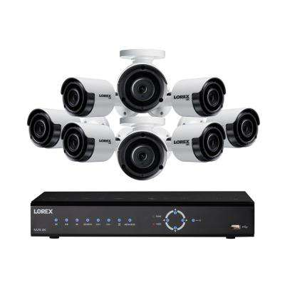 8-Channel 4K NVR with 2TB HDD and 8 x 4K Camera
