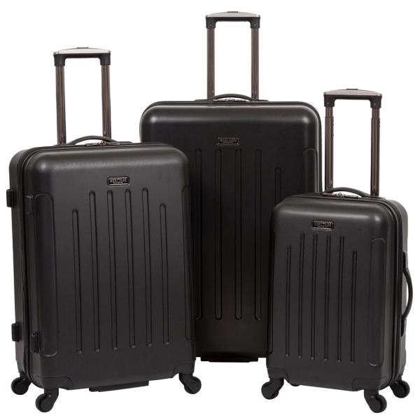 Heritage Black - Lincoln Park Lightweight Hardside ABS 3-Piece 20 in./25