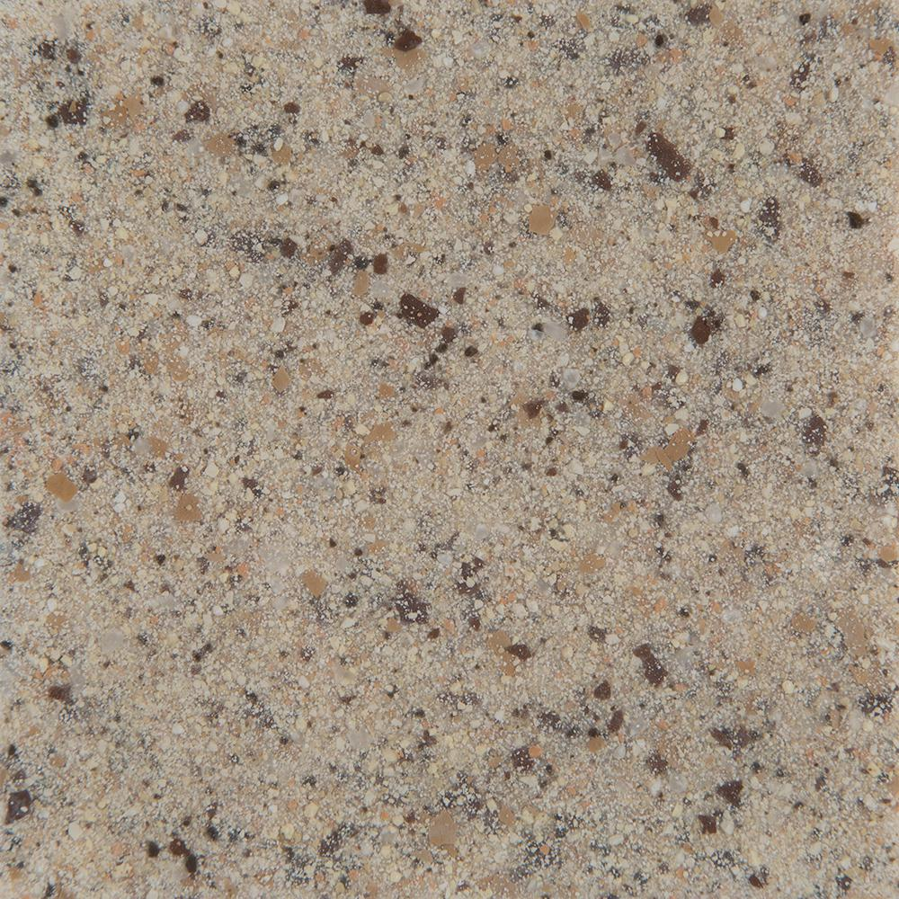 St. Paul 4 in. Solid Surface Technology Vanity Top Sample in Mojave