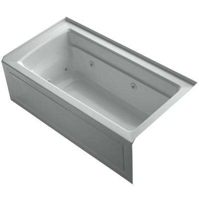 Ice Grey Bathtubs Bath The Home Depot