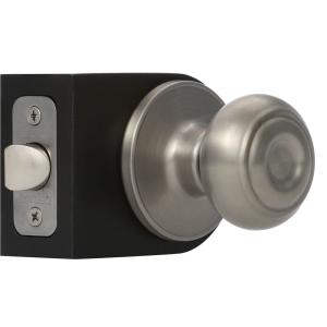 Defiant Saturn Stainless Steel Privacy Bed/Bath Door Knob-T3610B ...
