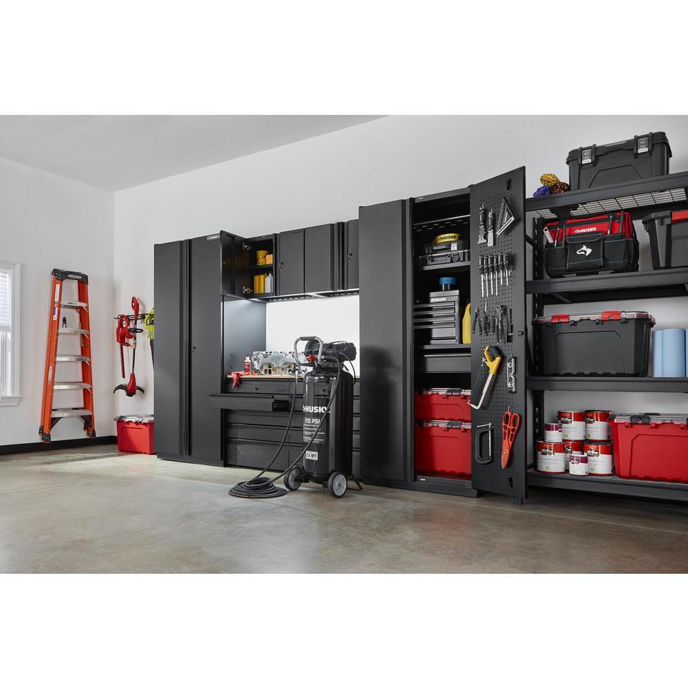 Husky 6 Piece Heavy Duty Welded Steel, Garage Storage Wall Cabinets Home Depot