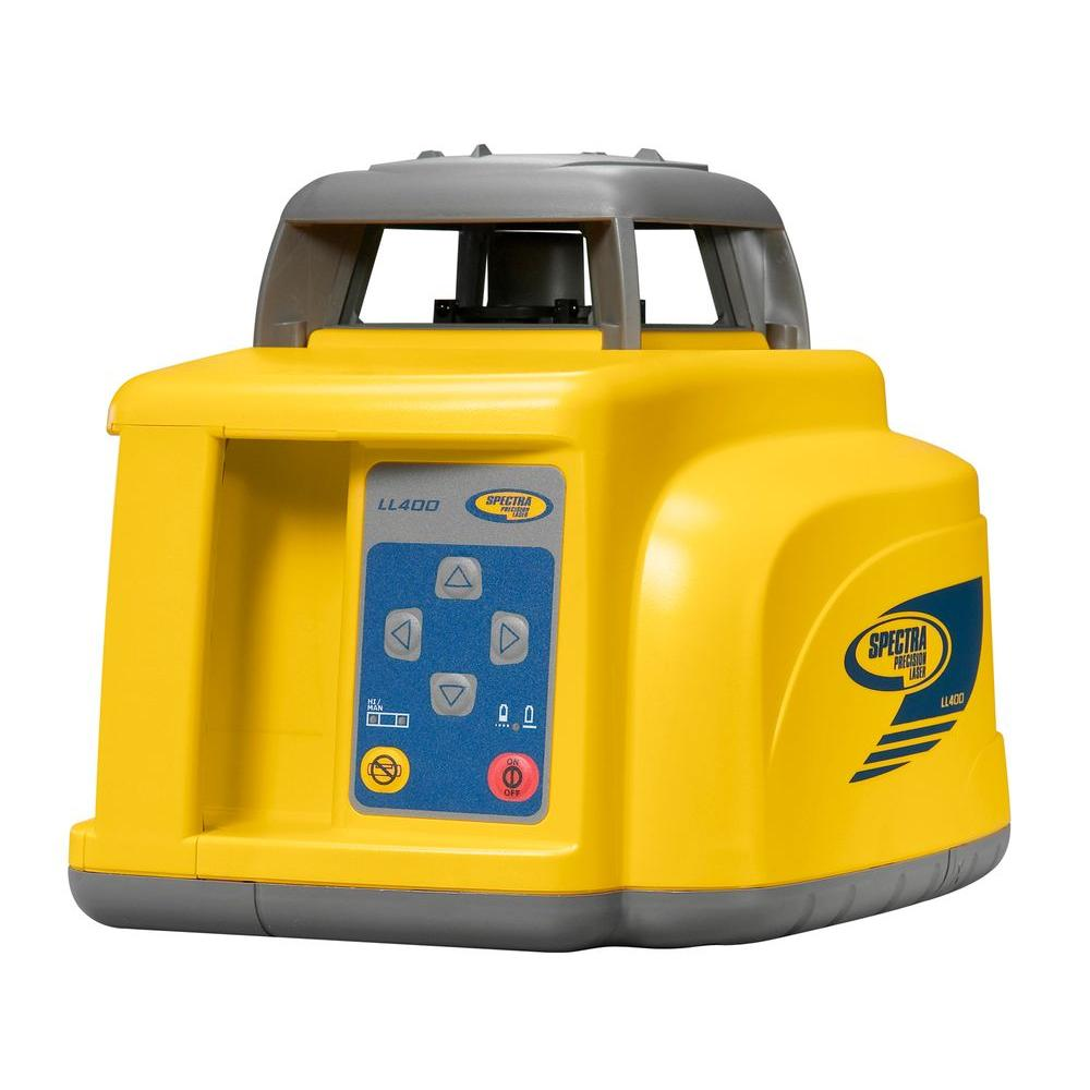 Spectra Precision Long Range, High Accuracy Laser Level with Laserometer Receiver and Clamp