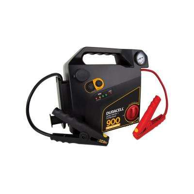 900-Peak Amps Jump Starter with Air Compressor
