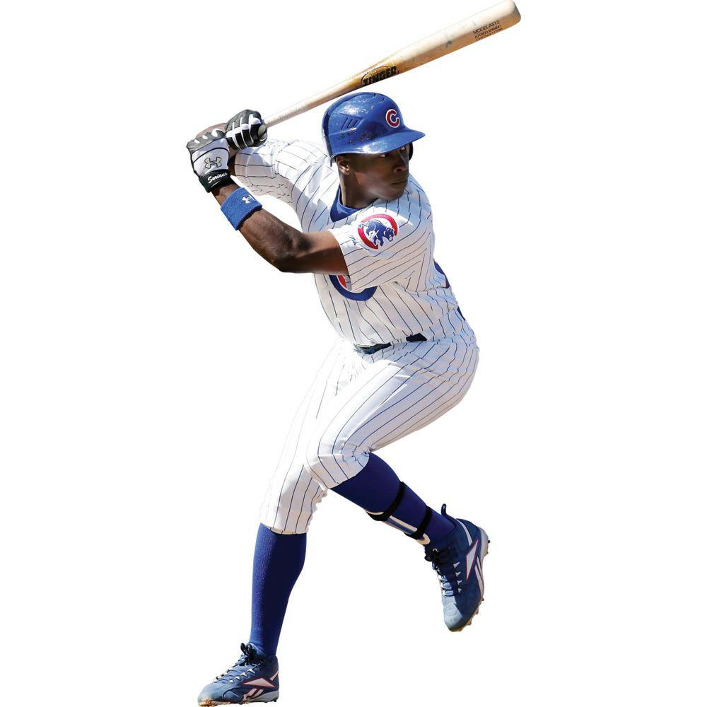 Fathead 35 in. x 74 in. Alfonso Soriano Wall Decal