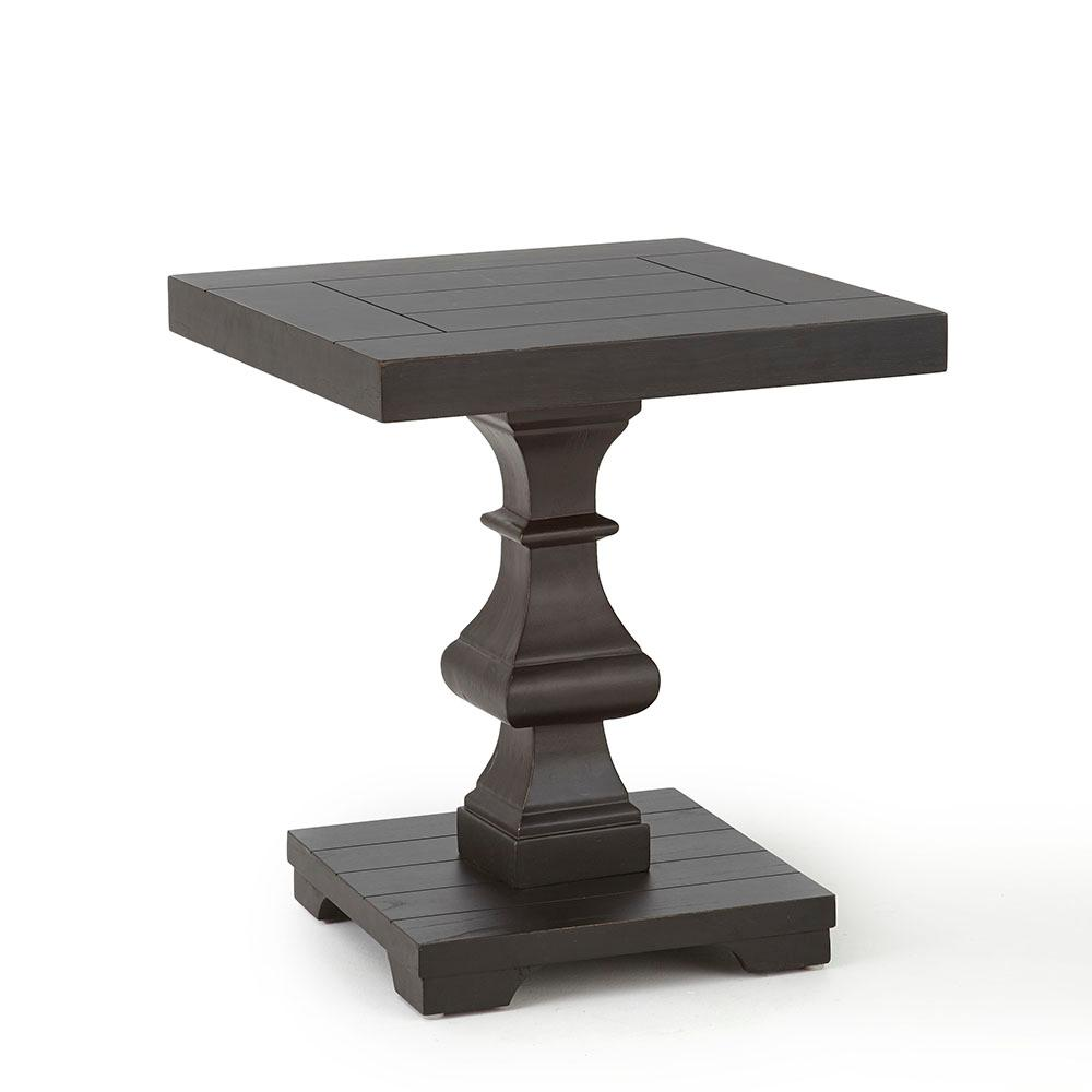 Dory Ebony Square End Table