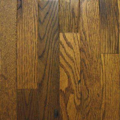 Rustic Oak Old World Brown 3/4 in. Thick x 2-1/4 in. Wide x Random Length Solid Hardwood Flooring (20 sq. ft. / case)
