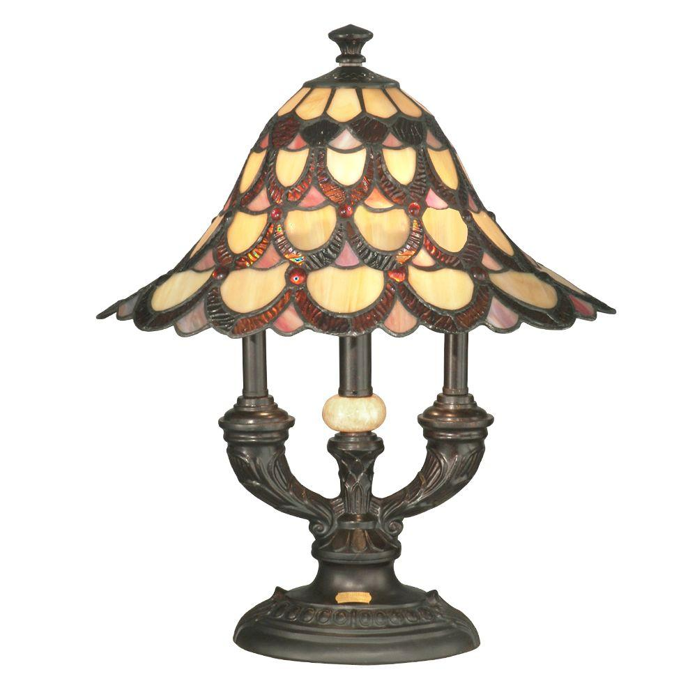Pea Antique Bronze Table Lamp