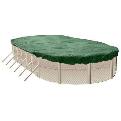 Ultimate Heavy-Duty Winter Cover 24 ft. x 12 ft. Oval