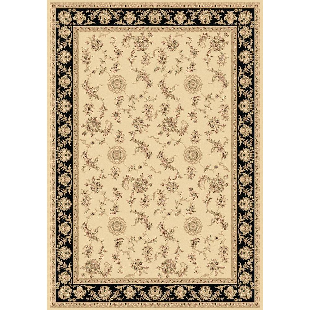 Legacy Ivory/Black 5 ft. 3 in. x 7 ft. 7 in.