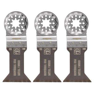 1-3/4 in. E-Cut Bimetal Universal Saw Blade (3-Pack)