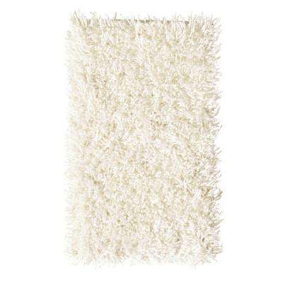 Ultimate Shag Ivory 6 ft. x 9 ft. Area Rug
