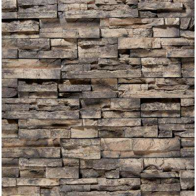 12 in. x 2.5 in. Manufactured Stone Prostack Ash Flat Siding 5 sq. ft.