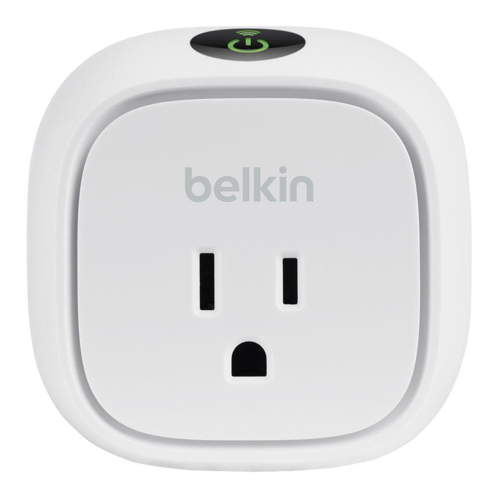Belkin Wireless WeMo Insight SwitchF7C029fc The Home Depot