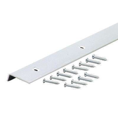 96 in. Decorative Aluminum Moulding Edging A787 in Polished