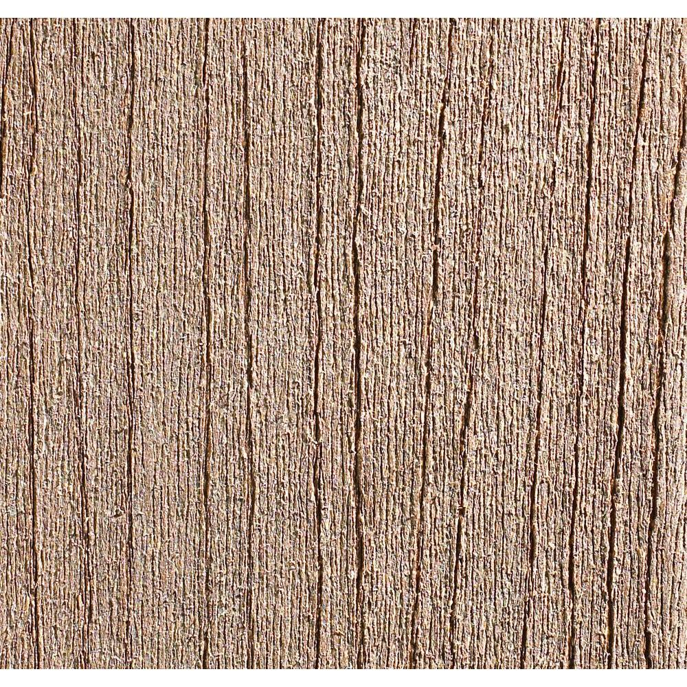 TimberTech 1-1/4 in. x 5.5 in. x 2 ft. Composite Decking Board Sample in Cedar