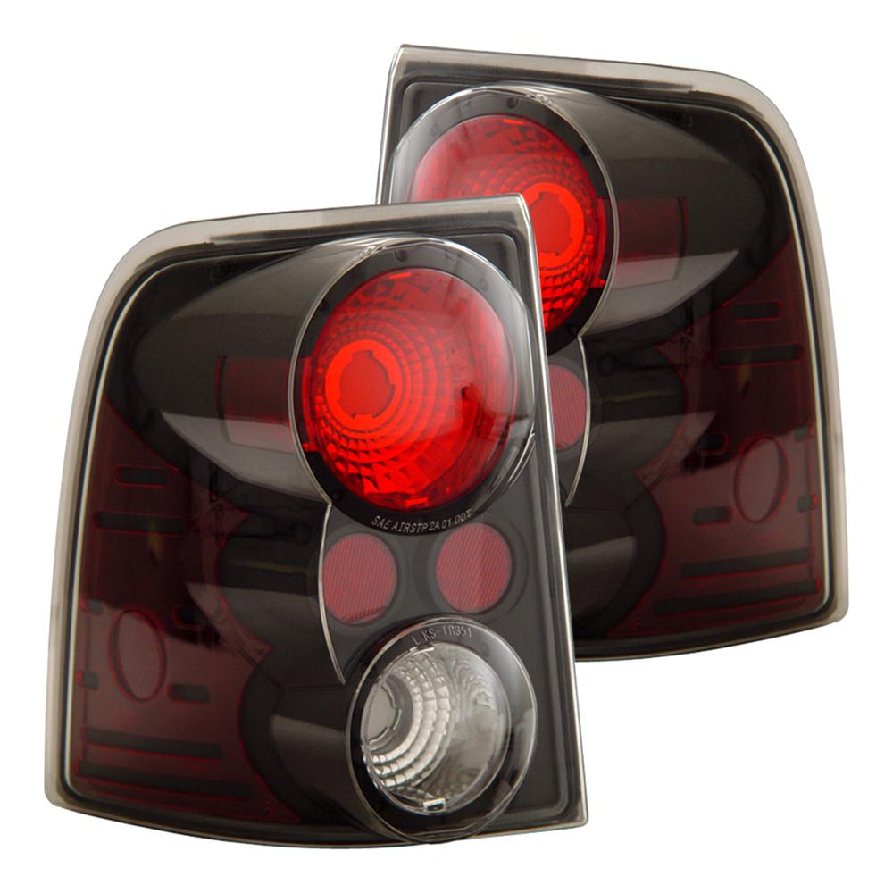 Anzo Usa 2002 2005 Ford Explorer Taillights Black