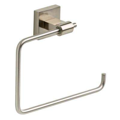 Maxted Open Towel Ring in Brushed Nickel